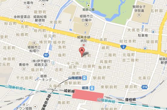 焼肉南大門塩町店地図
